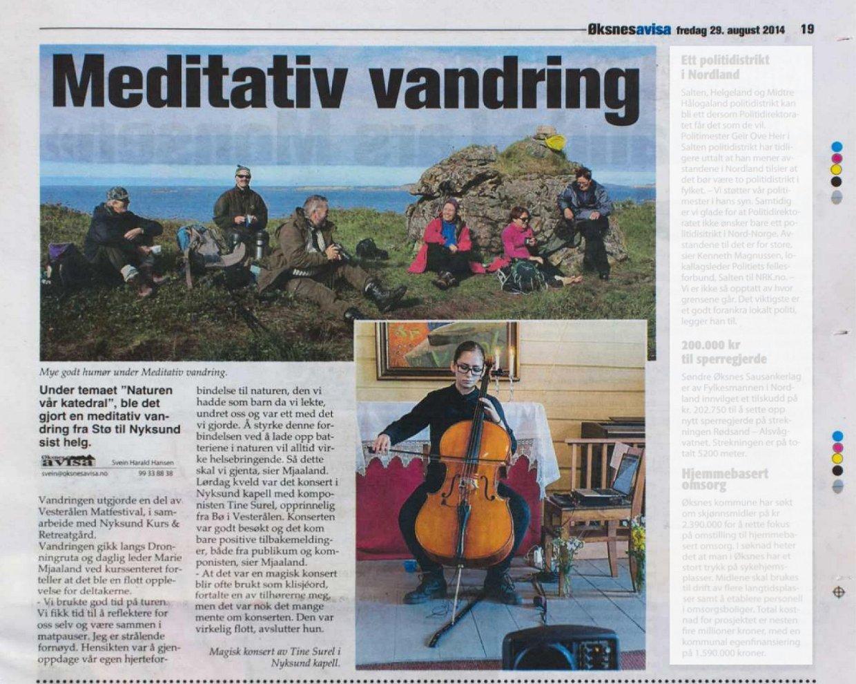 ØA 2014-08-29 Meditativ vandring beskåret masketkompr