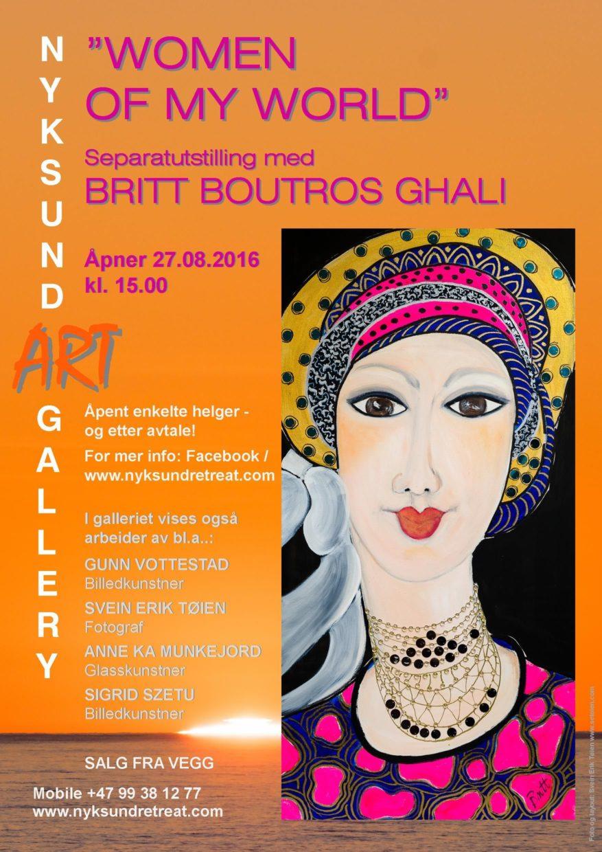 Britt Botrous Ghali separatutstilling poster A3 e1-1