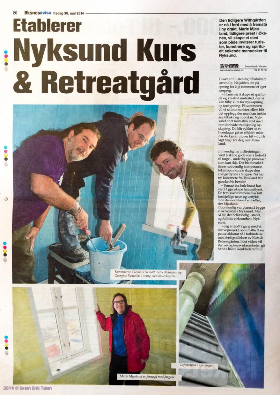 NKR avisartikkel ØA 2014-05-30