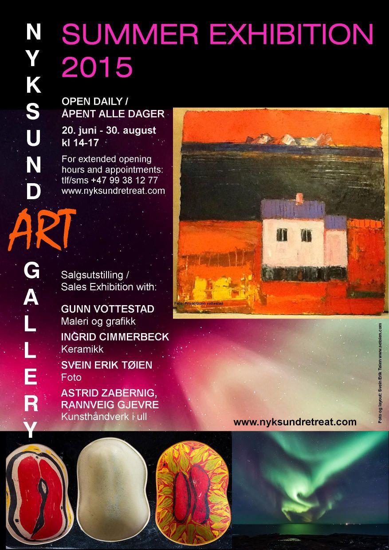 Summer Exhibition 2015 poster A3 endelig